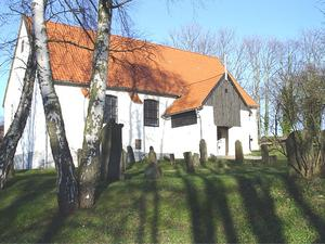 Hiddensee - Inselkirche in Kloster